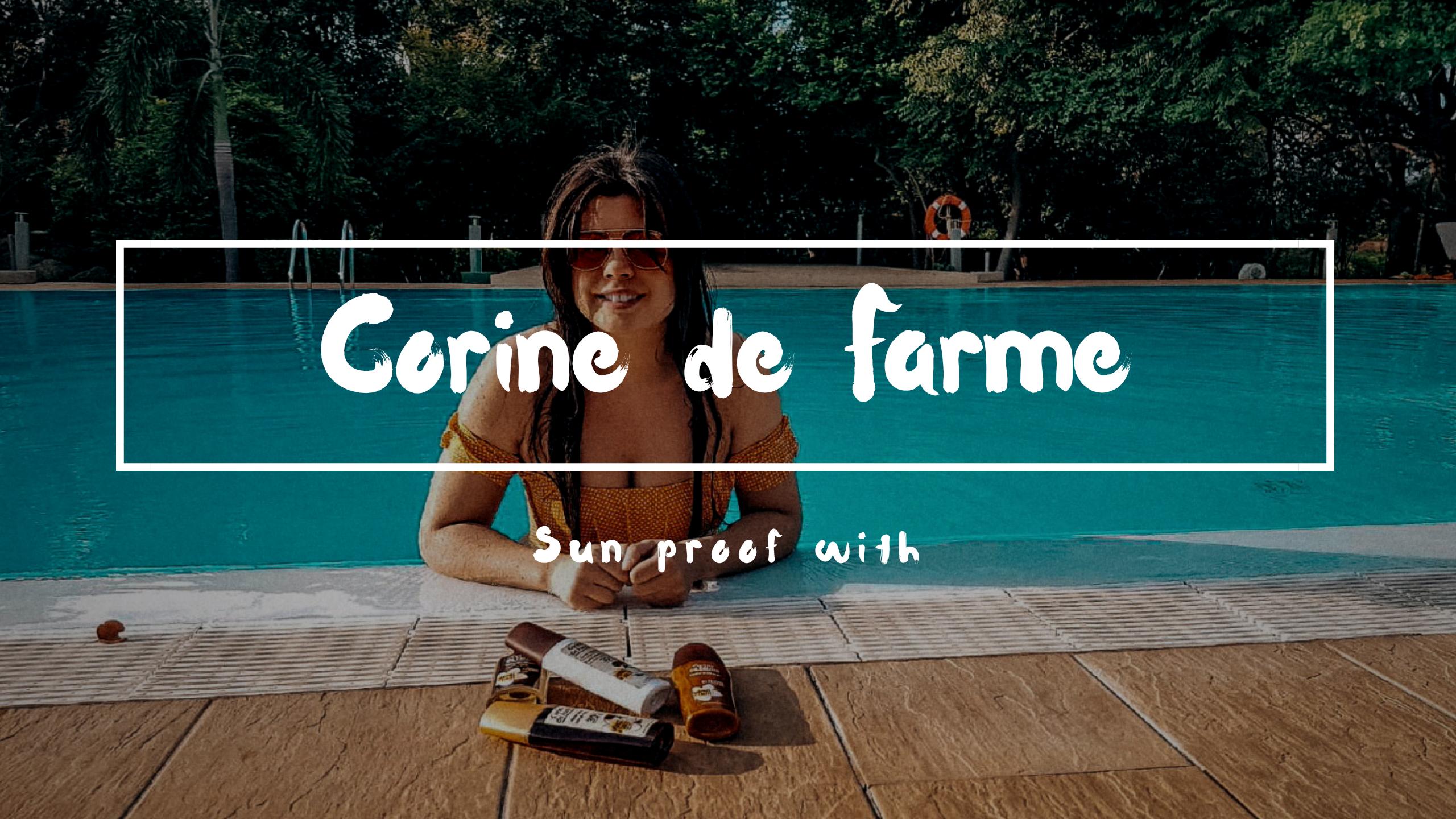 Beauty: Sun proof with Corine de Farme
