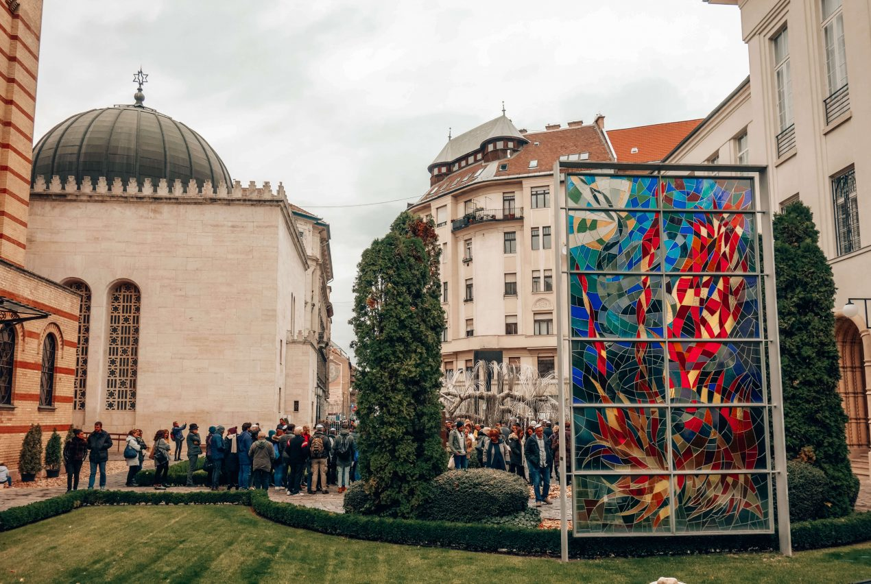 The Jewish quarter in Budapest