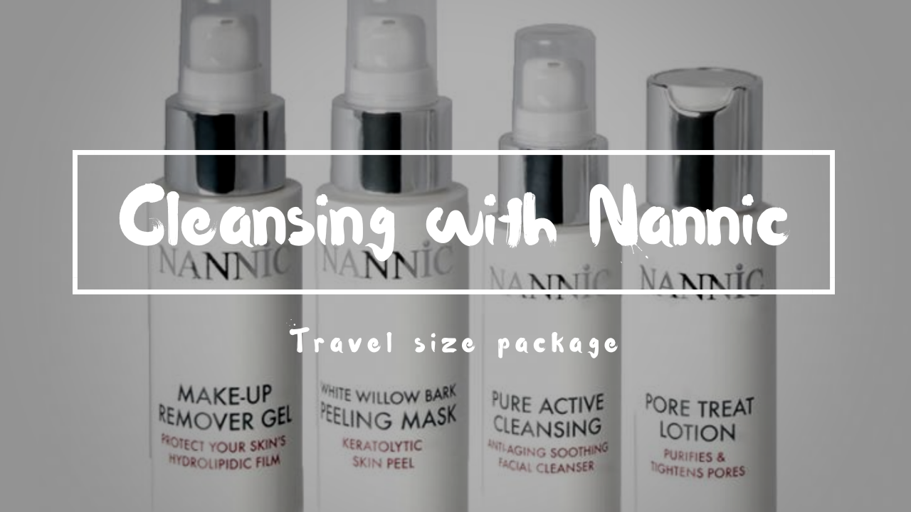 Beauty:Cleansing Care by Nannic travel size