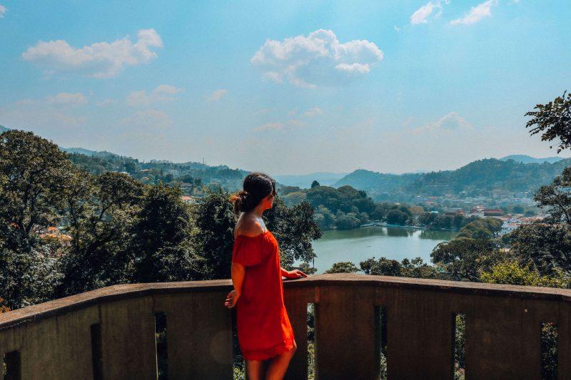 Uitzicht Kandy