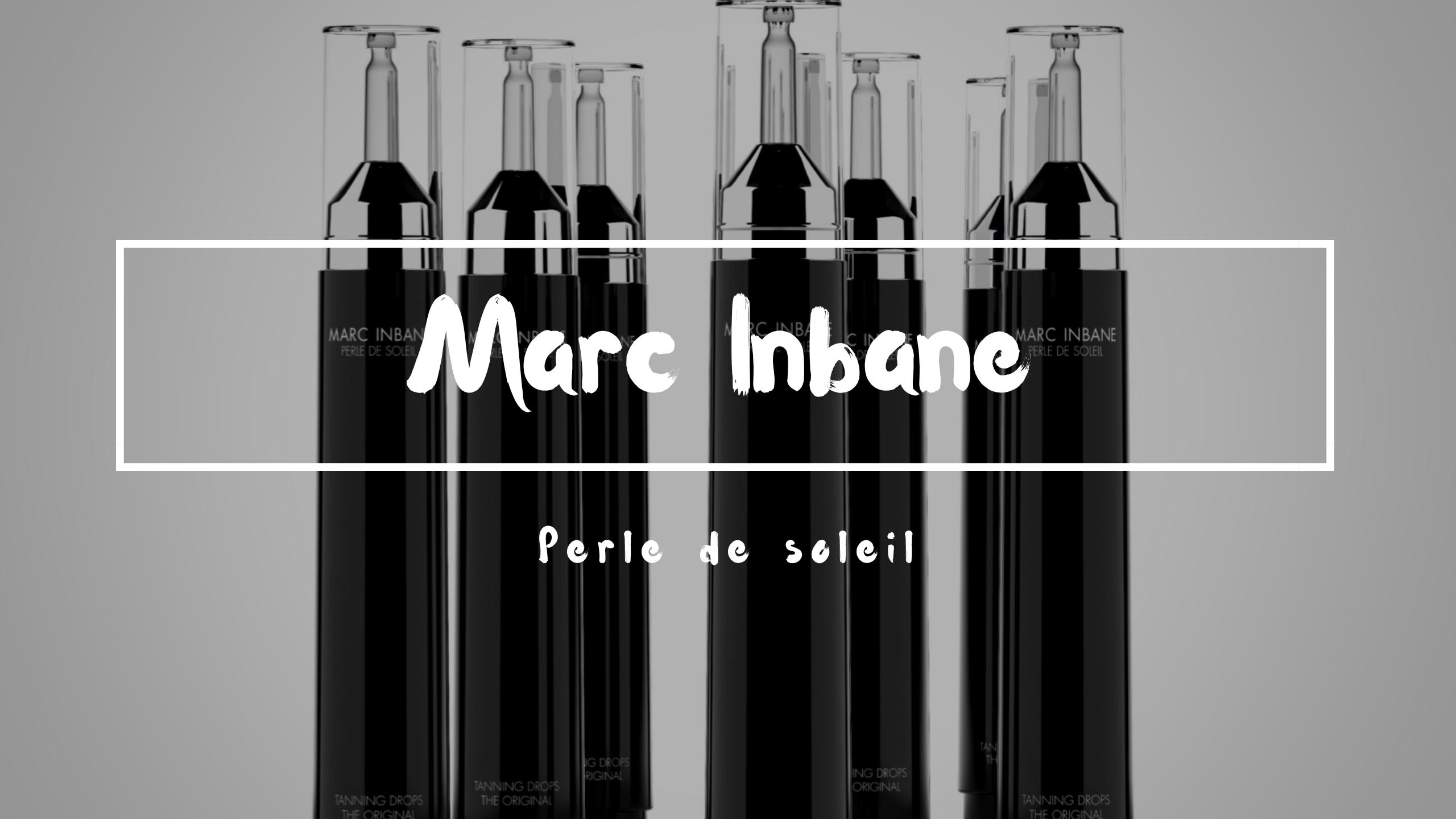 Beauty: Marc Inbane Perle de Soleil, behoud je zomer look.