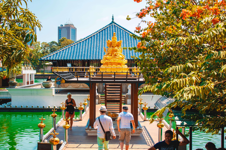the Simamalake Shrine entrance
