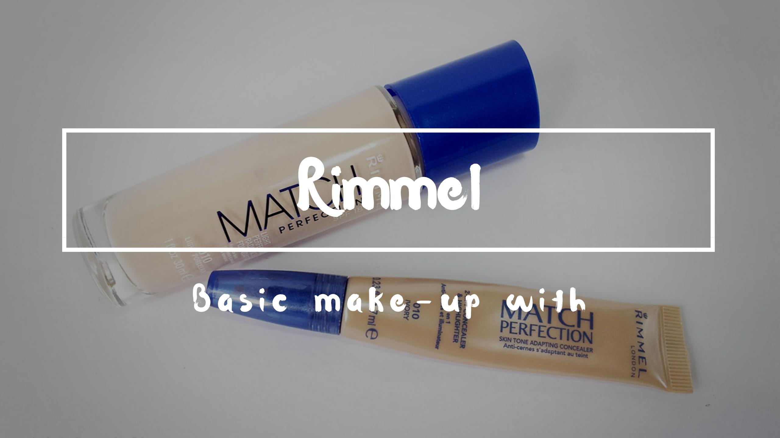 Blog basic with rimmel
