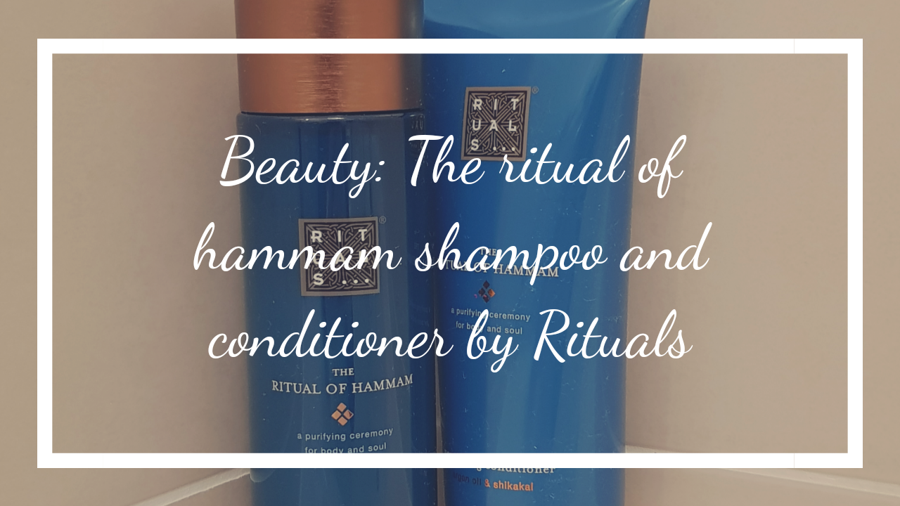 Beauty: The ritual of hammam shampoo and conditioner by Rituals