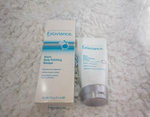 Exuviance body polishing masque