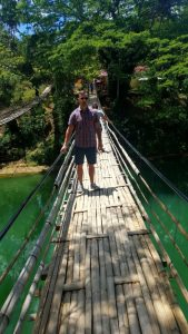 Old bridge during Bohol tours