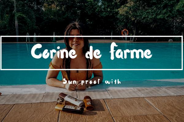 Sun proof with Corine de Farme