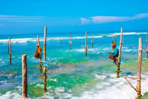 Typical fishermen Sri Lanka