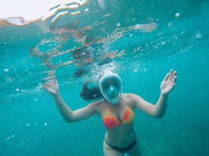 Still happy snorkeling