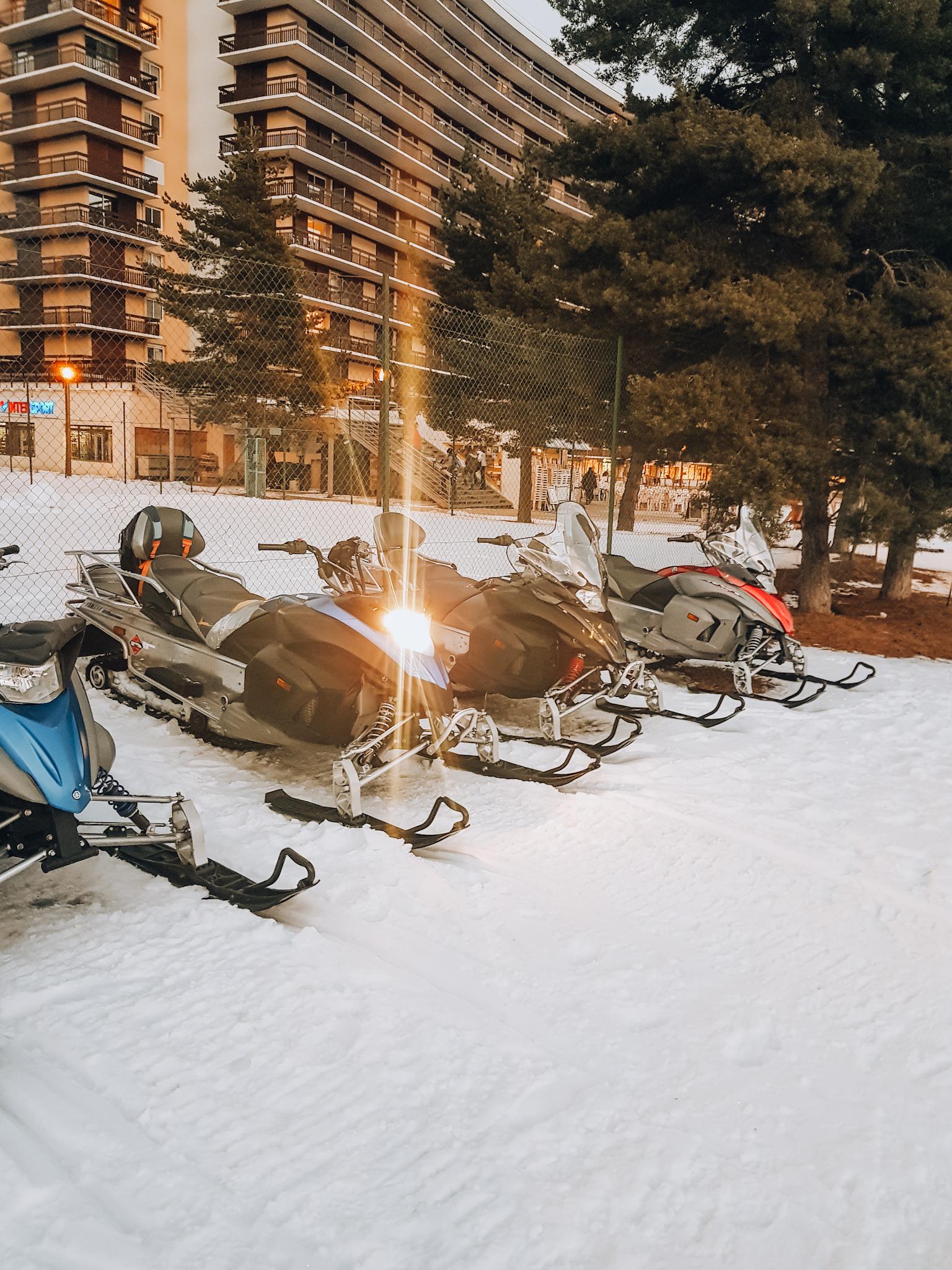 Ski scooter Le Dévoluy