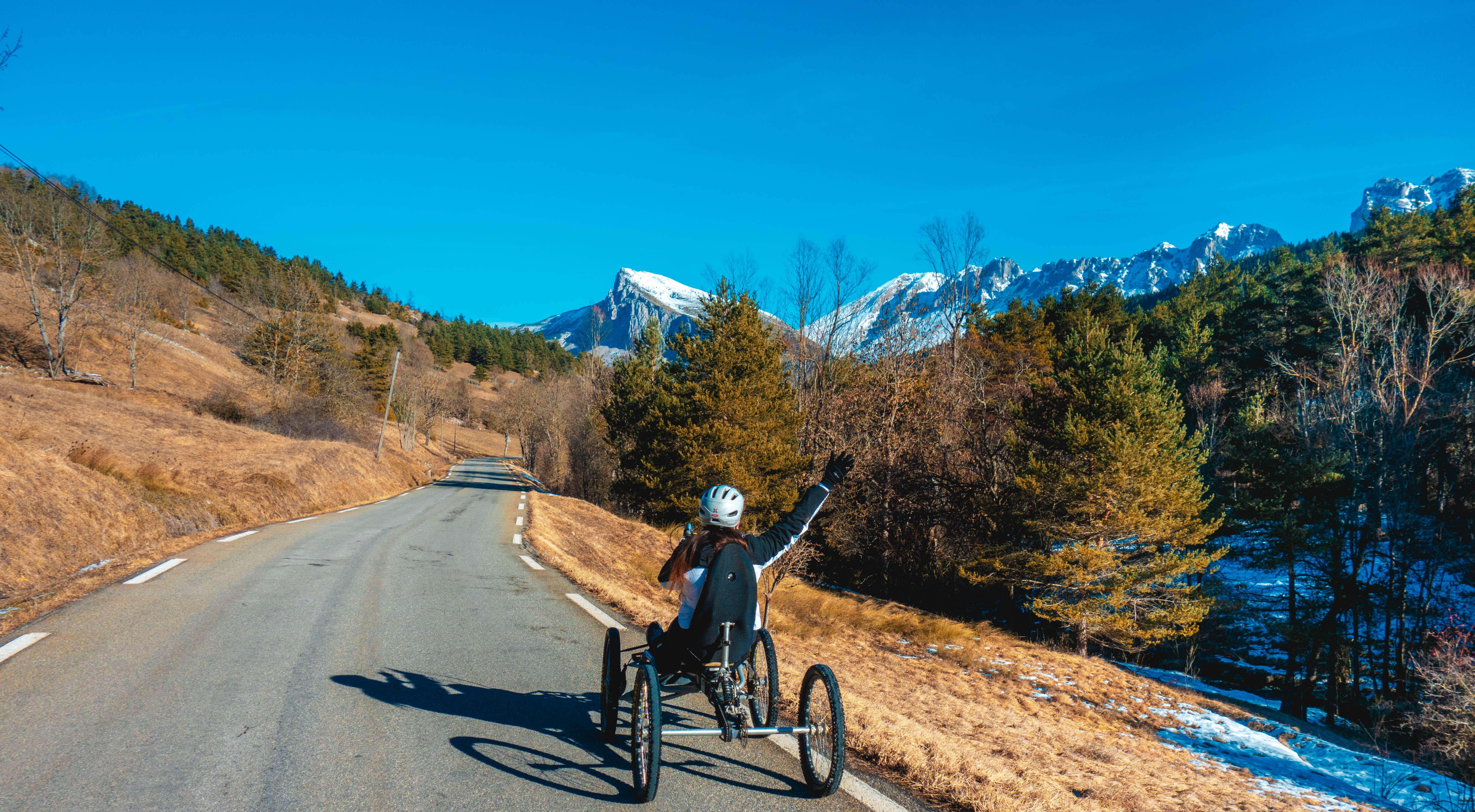 Uitzicht tijdens Quad Biking