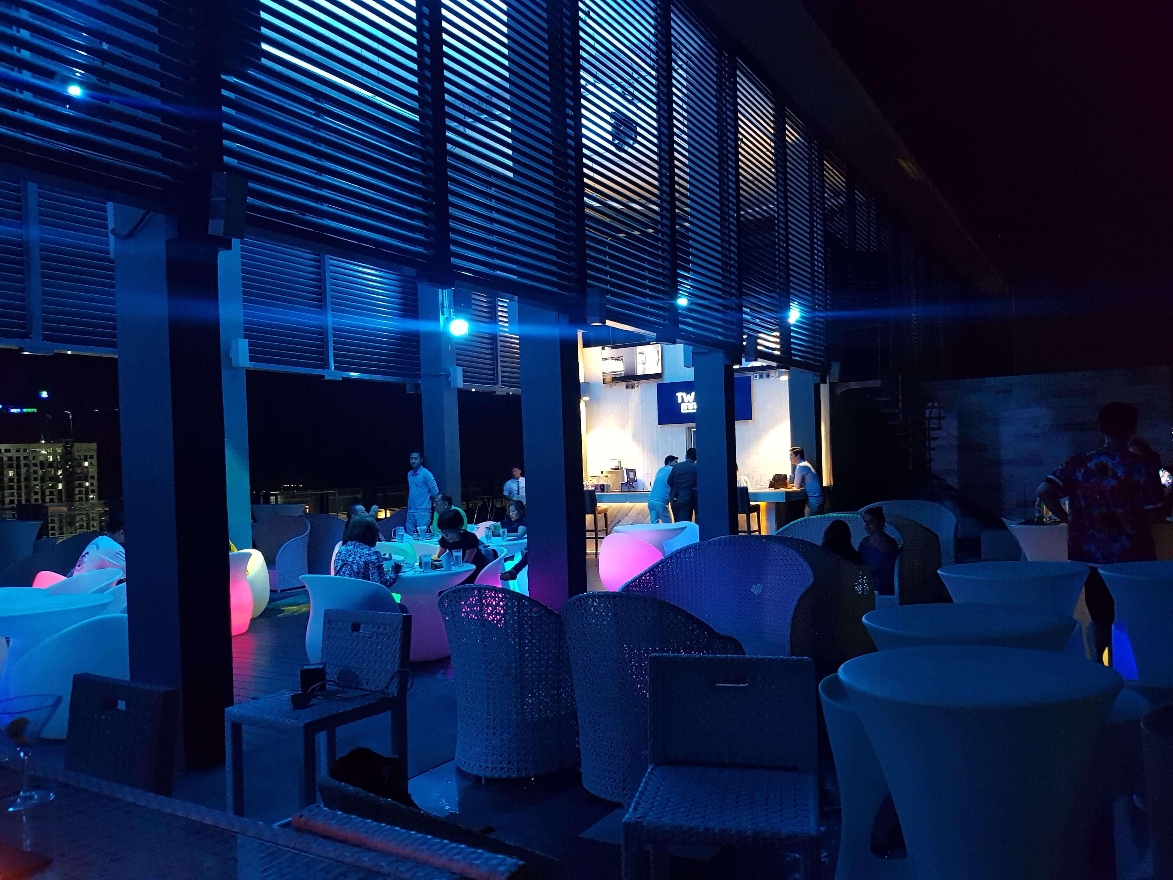 highest lounge area