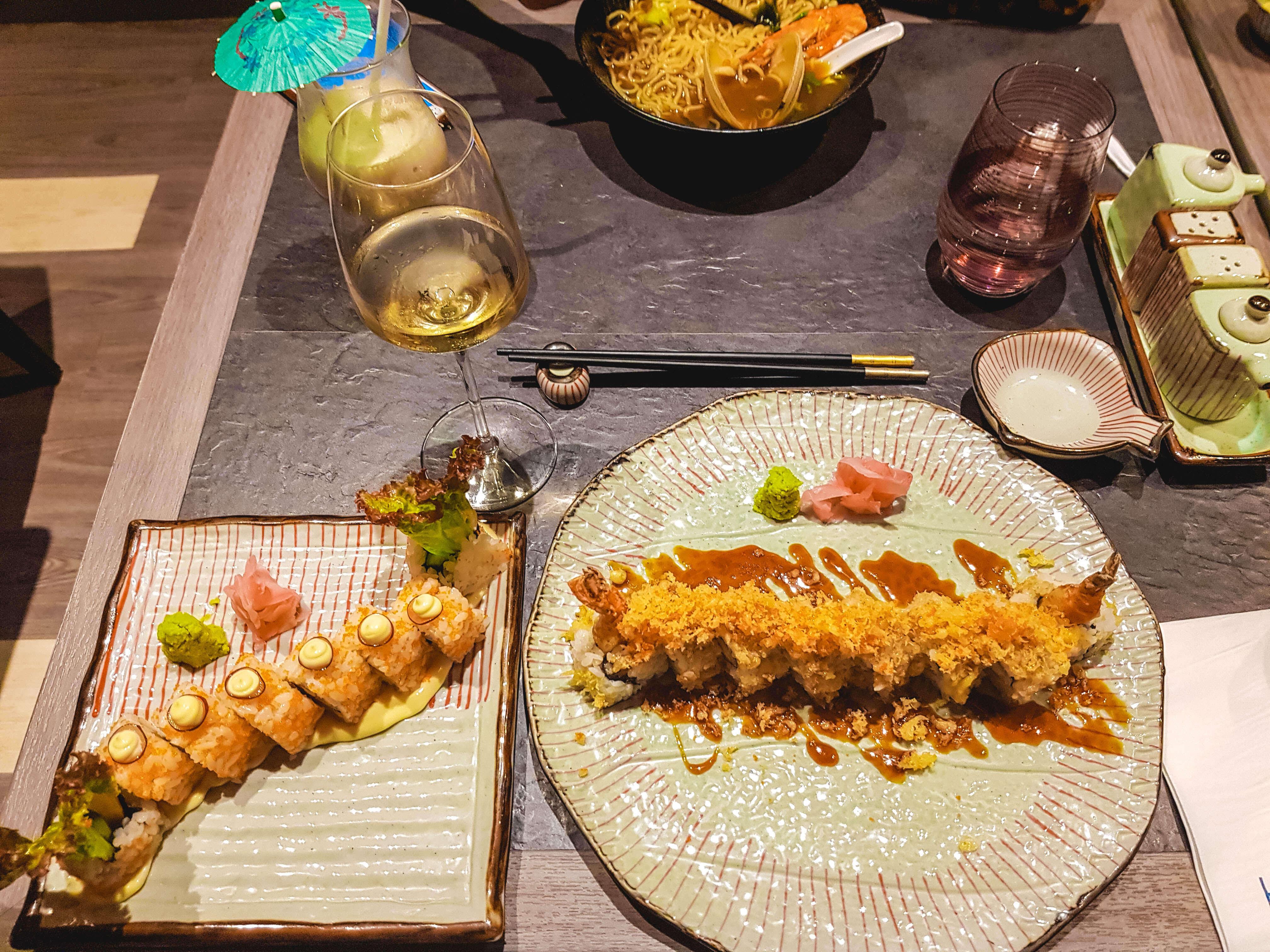 Sushi at bai hotel