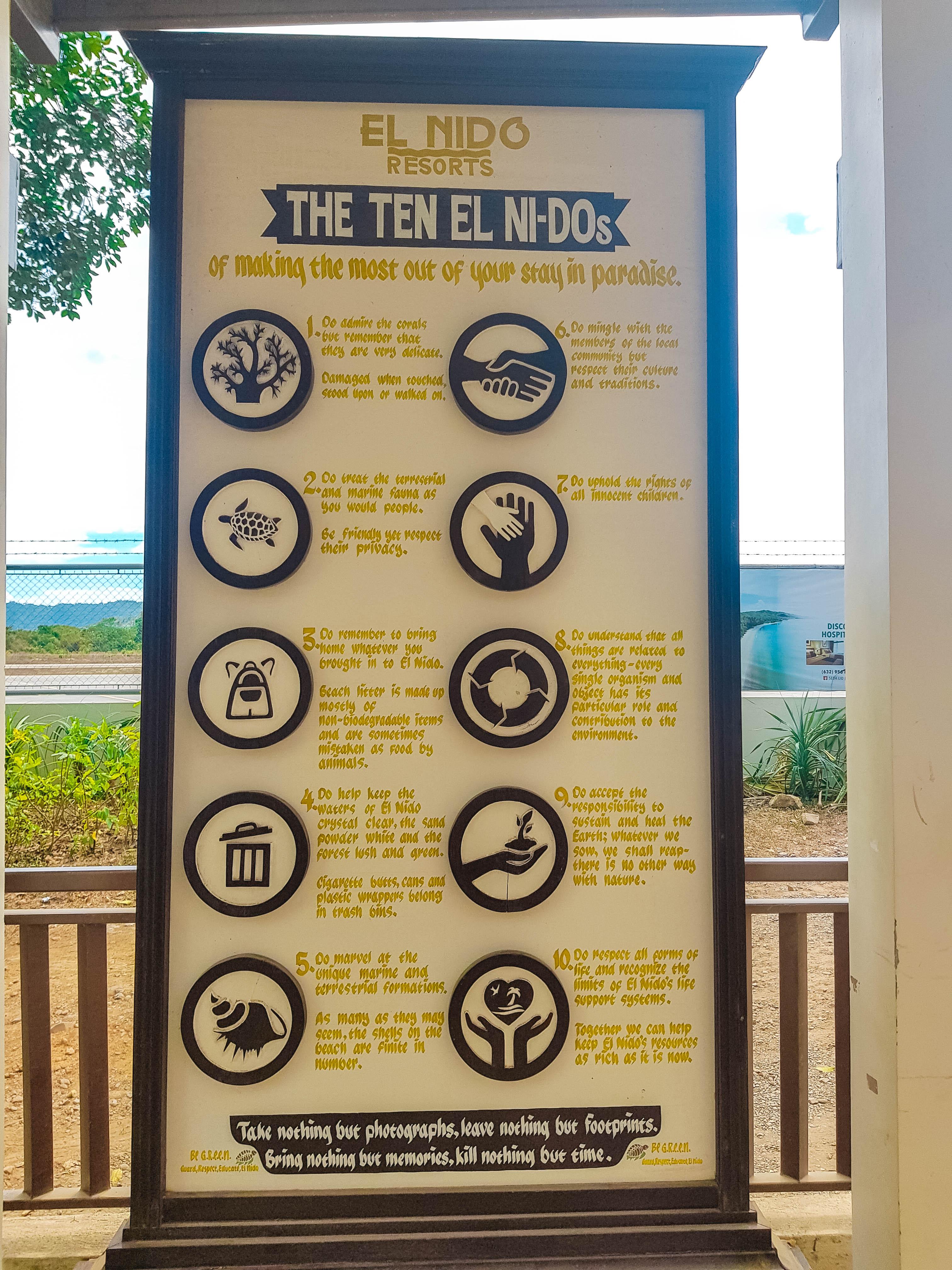 Info about El Nido