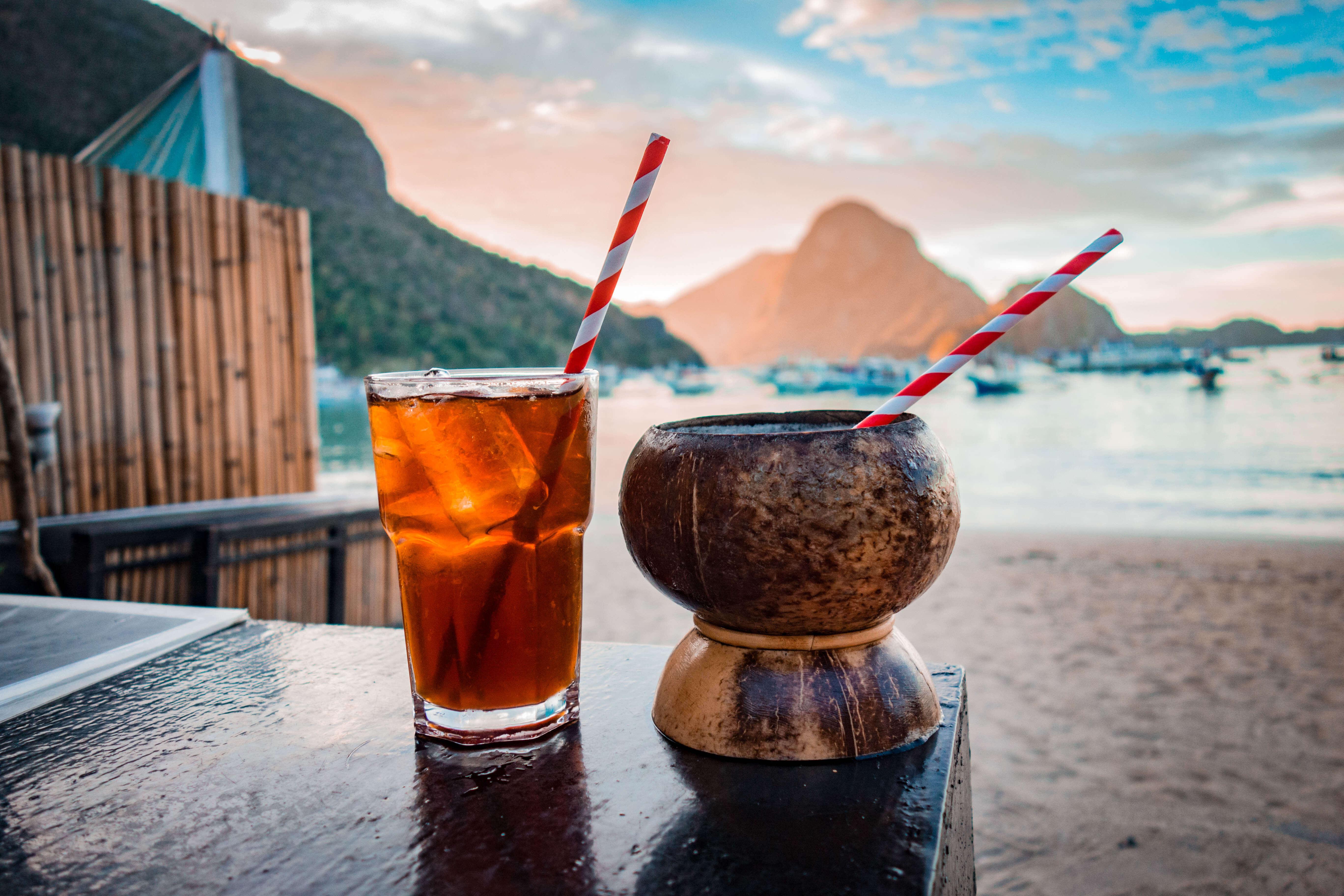 Firts Cocktail at El Nindo