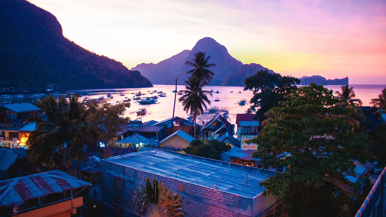 Sunset at Cuna hotel