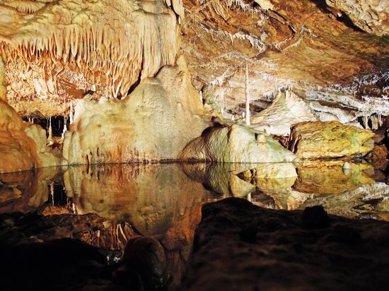 the caves