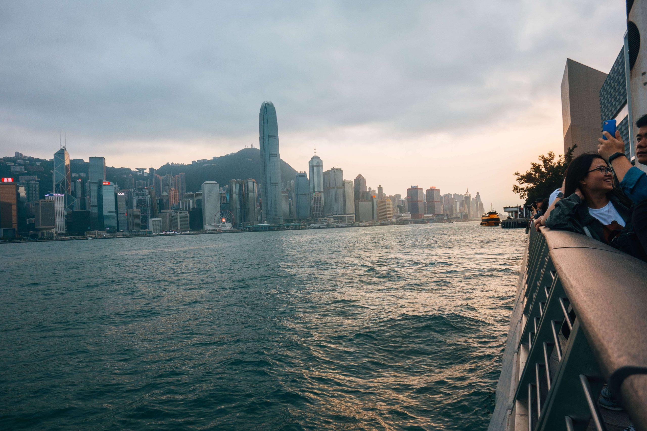 Tsm Sha Tsui/ Victoria Harbour view Hong Kong