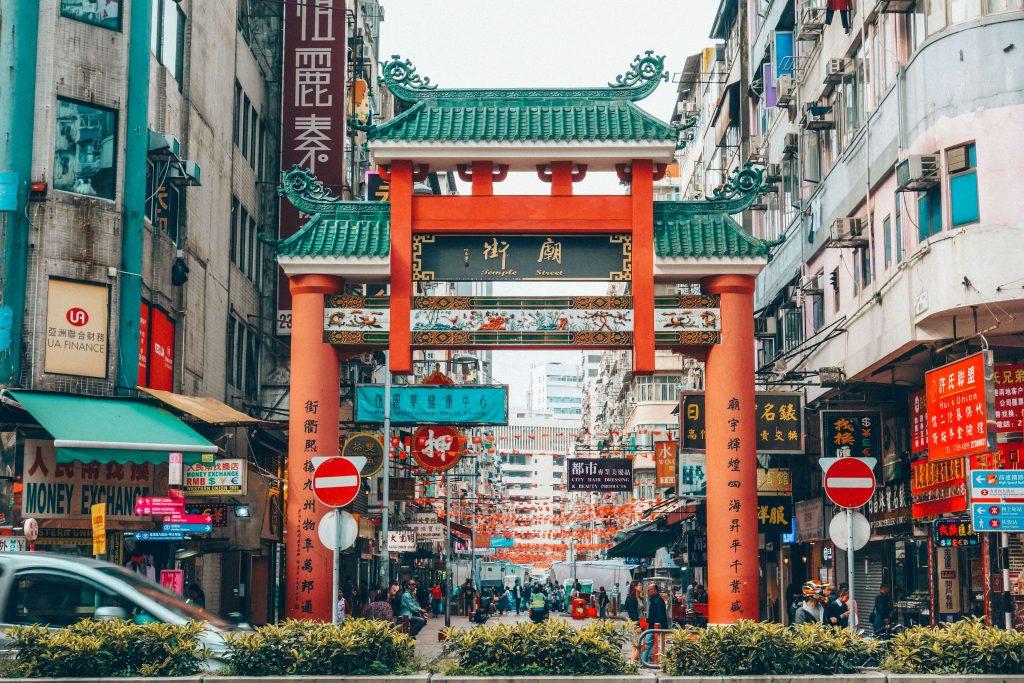 Temple street/ Night market